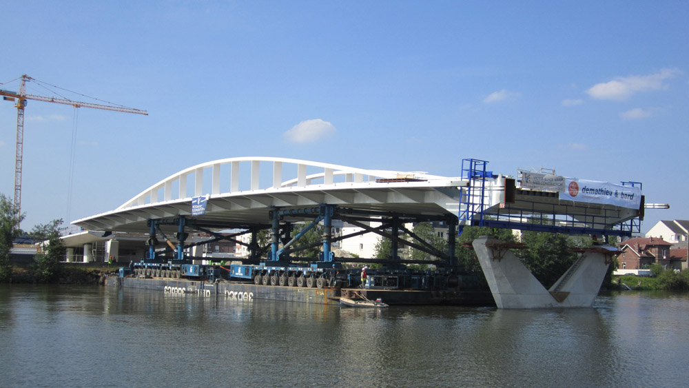Pont neuf sur l oise infosteel for Neuf construction